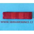 Stužka našívací - Medaile Za službu vlasti -N-145