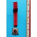 Miniatura - DOK IV. – Zlatý čestný odznak - 1. třída 1945-49 za civilní zásluhy
