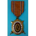 DOK IV. - II. důstojnický stupeň 3. třída 1937-39 za civilní zásluhy (konklávní s prohloubením)