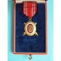 DOK IV. - II.důstojnický stupeň 3.třída 1936 za civilní zásluhy (menší,konklávní)