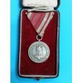 Služební medaile za XXV. let služby - Národní garda - civilní skupina
