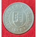 1 koruna 1940 - CuNi