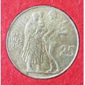 25 Kčs 1955 - desáté výročí osvobození Československa