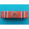 Připínací náprsní stužka DOK IV.  I.velitelský stupeň 1.třída typ 1937-39 za civilní zásluhy