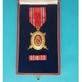 DOK IV. - II.důstojnický stupeň 1.třída 1936 za civilní zásluhy (menší,konklávní)