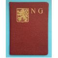 Členský průkaz - Svaz Národních Gard 193?