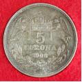 Pětikoruna - 5 korona 1908 KB
