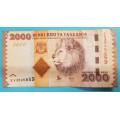 Tanzánie 2000 Shilingi b.l.