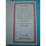 Rakousko Certifikát na Au a Ag medaile Rakouských vojevůdců č. 213