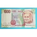 Itálie - 1000 lir 1990