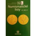Numismatické listy ročník 67, rok 2012, číslo 4