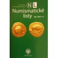 Numismatické listy ročník 66, rok 2011, číslo 3