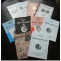 10 aukčních katalogů, Dukát, Numis, Aukční síň Jinošov/použité/, katalog filatelie 1918-38