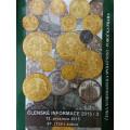 Aukční katalog ČNS Praha č.67 , mince , medaile , bankovky , řády - 2015