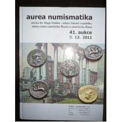 Aurea - 41.aukce - sbírka Dr. Hugo Poláka - Antika - v tvrdé vazbě 2011