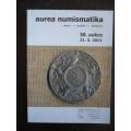 Aurea - 38.aukce - aukční katalog  mince 2011