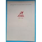 Pochvalné uznání - Revoluční Illegální hnutí Bílá Hora