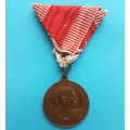 FJI - medaile Císařské manévry 1900 - Jaslo (Galizia)