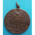 FJI - medaile 275 let střeleckého spolku 1901 Zuckmantel - Zlaté Hory