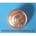 Četnictvo - Knoflík na uniformu - uniformní knoflík - zlatý ČS - UNIVERSELLE - průměr 25mm