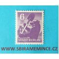 Německo - Sovětská Zóna-Berlín 6 pfennig