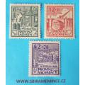 Německo Deutsche Post - Sovětská Zóna - Provinz Sachsen - Wiederaufbau 1946 - 3 ks