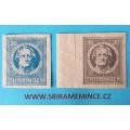 Německo Deutsche Post - Sovětská Zóna - Thüringen - 30 pfennig + 20  pfennig Goethe