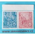 Německo - DDR - 10 a 20 pfennig 1954 Pětiletka