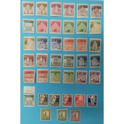 Německo - sbírka známek  Berlín - 39 ks neražené