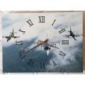 Nástěnné hodiny - letadla L-39 Albatros