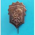 Odznak 4.střelecký pluk Prokopa Velikého 4. a 5. - VI. 1927 - 10. výročí založení pluku