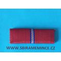 Stužka našívací - Pamětní medaile k 20. výročí Slovenského národního povstání