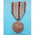 Stříbrná medaile IV. pluku Stráže svobody - N-81