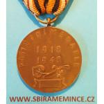 Soubor - Medaile a Dekret Bachmačská pamětní medaile a propouštěcí list 31. pluku ARCO na stejné jméno