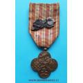 Československý Válečný kříž 1914 - 1919 - vydání 1920-1938- 1x lipová ratolest - varianta I./b