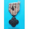 Československý Válečný kříž 1914 - 1919 - vydání 1945-1946 - 1x stříbrná hvězdička a číslo 4 -var. III.