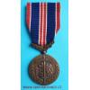 Československá medaile Za chrabrost před nepřítelem - Londýnské vydání varianta a-1