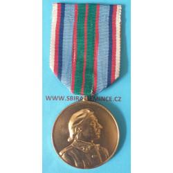 Pamětní medaile 21. střelecký pluk Terronský