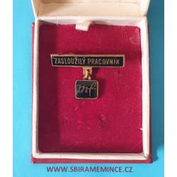 Odznak - Zasloužilý pracovník MF