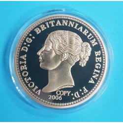 Pozlacená medaile - Anglie - Velká Británie - Victoria D:G: Britanniarum Regina F:D:  2006
