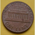 1 (one) cent Lincoln 1976 D - Cu