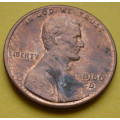 1 (one) cent Lincoln 1986 D - Cu