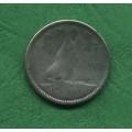 Kanada 10 cents 1955 - Ag