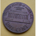 1 (one) cent Lincoln 1969 - Cu