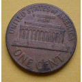 1 (one) cent Lincoln 1966 - Cu