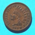 1 ( one ) cent 1900 indián - Indian Head