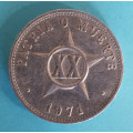 Kuba - XX. centavos 1971 - al
