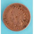 1 ( one ) cent 1864 indián