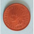1 ( one ) cent 1879 indián - Indian Head