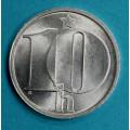 ČSSR  10 haléř 1987 Al